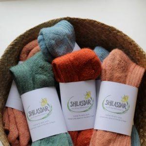 Isle of Skye Natural Dye Company - Botanically Dyed Socks